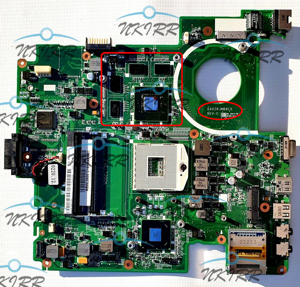 DA0ZRJMB8C0 ZRJ MBV6M06001 MBV6K06001 MBV3X06001 MBV6L06001 MBV5Q06001 1G DDR3 Motherboard For ACER Travelmate 5760 5760G TM5760