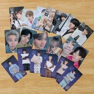 KPOP Bangtan Boys Poster WORLD OST Album Lomo Cards Pajamas GameCards V Suga Jk Photo Double-sided Card Poster HDPhotocard 7pc(China)