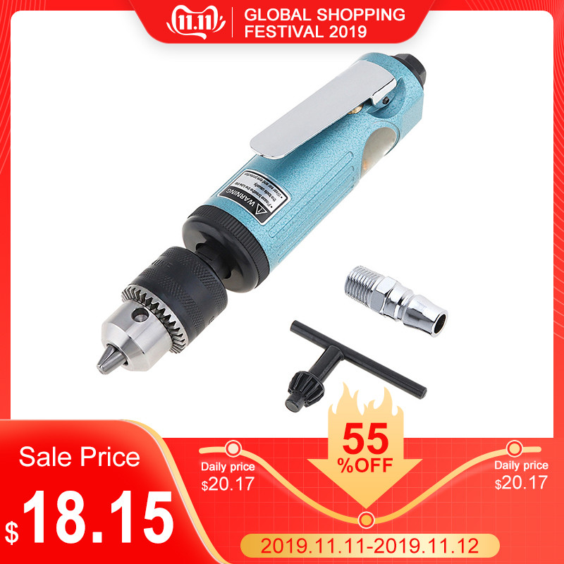 Durable Tr-5200 22000RPM High Speed Straight Pneumatic Drill Machine With 1.5-10mm Chuck For Drilling Grinding