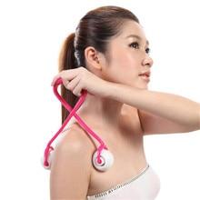 1 шт. массажный ролик для похудения брюшной полости, дымоход, тонкая талия, массаж живота, пуш-мячик для массажа стоп, массаж потери веса
