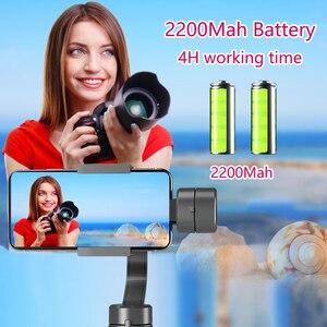 Image 3 - Orsda מייצב Gimbal Smartphone מצלמה 3 ציר PTZ כף יד עבור טלפון IPhone11XS XR X 8 בתוספת W/פוקוס למשוך & זום Estabilizador