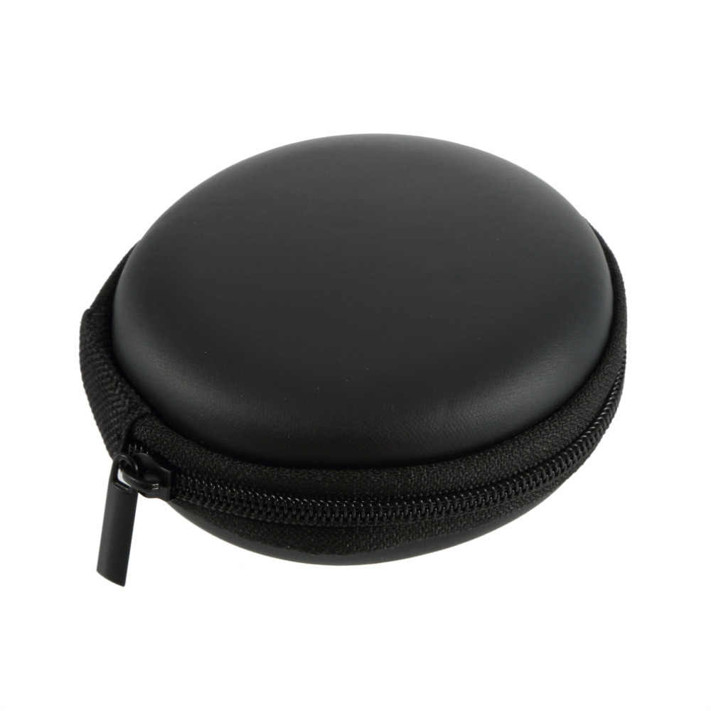 Headphone Storage Bag Earbuds SD Card Hold Case, Storage Carrying Hard Earphone Bag, Headphone Box Brand New