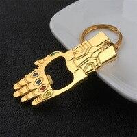 Thanos Infinity Gauntlet Bottle Opener Keychain 4