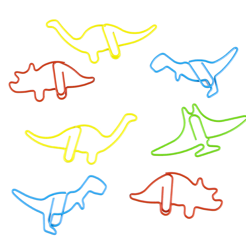 Dinosaur Paper Clip Bookmark Lovely Office Supplies Special Paper Clips Papeleria Clips Para Papel Paperclips Clipes Paperclip