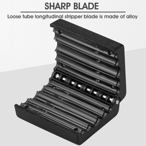 Image 3 - Loose tube slitter 4.5mm 11mm Ribbon Cable Stripper Longitudinal Center Pipe Stripping Tool Tube Slitter Cable Cutter
