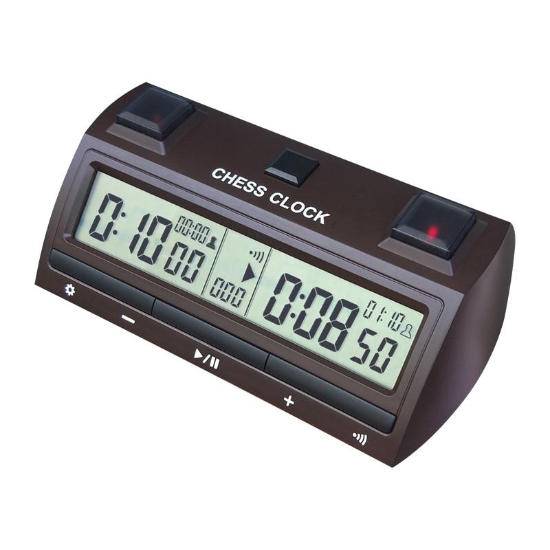 Portable chaud aller jeu déchecs horloge numérique compter vers le bas minuterie électronique professionnel jeu de joueur déchecs Portable maître jeu de société