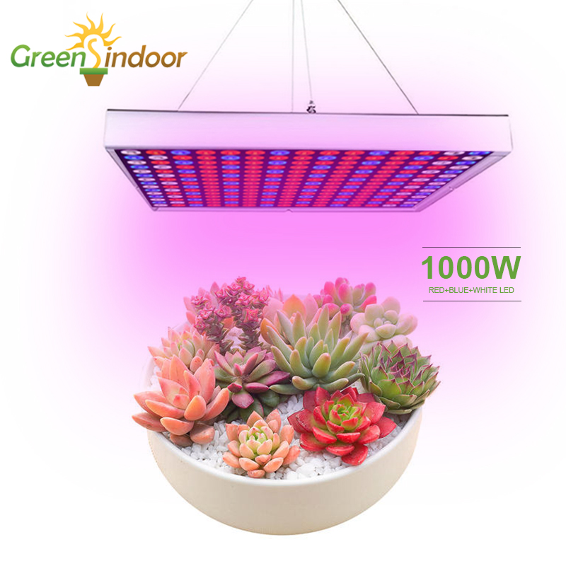 Us 28 24 37 Off 1000w Led Grow Light Full Spectrum Lamp For Plants Phyto Lamp Grow Tent Lamps Indoor Led Plants Red Blue White High Efficiency In