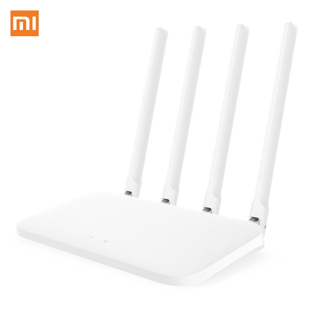 Version globale Xiao mi mi 4A routeur Gigabit édition 2.4GHz + 5GHz WiFi 16 mo ROM + 128 mo DDR3 à Gain élevé 4 antenne APP contrôle IPv6