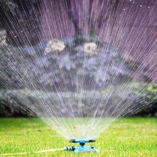 Sprinklers automáticos de jardim, 360 graus, rega gramado, bico rotativo, sistema de aspersor de água, suprimentos para jardim