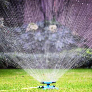 360 Degree Automatic Garden Sprinklers Watering Grass Lawn Rotary Nozzle Rotating Water Sprinkler System Garden Supplies(China)