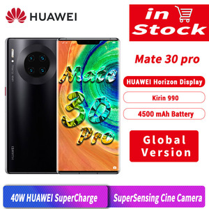 Image 1 - الإصدار العالمي لهاتف هواوي ميت 30 برو 30pro 8GB 256GB الهاتف الذكي 40MP الثلاثي كاميرات 32MP الكاميرا الأمامية 6.53 شاشة كيرين 990