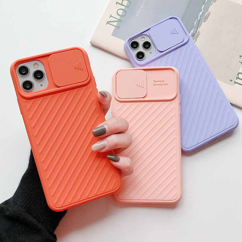 SUYACS Camera Protection Phone Case For iPhone 11 Pro Max 7 8 XS Max XR X 6 6S Plus Airbag Shockproof Plain Soft TPU Back Cover image