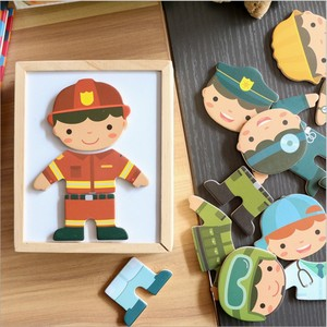 Baby Wooden Puzzle Set Early E