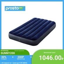 INTEX Кровать надувная Classic downy (Fiber tech) Твин, 99см x 1,91м x 25см