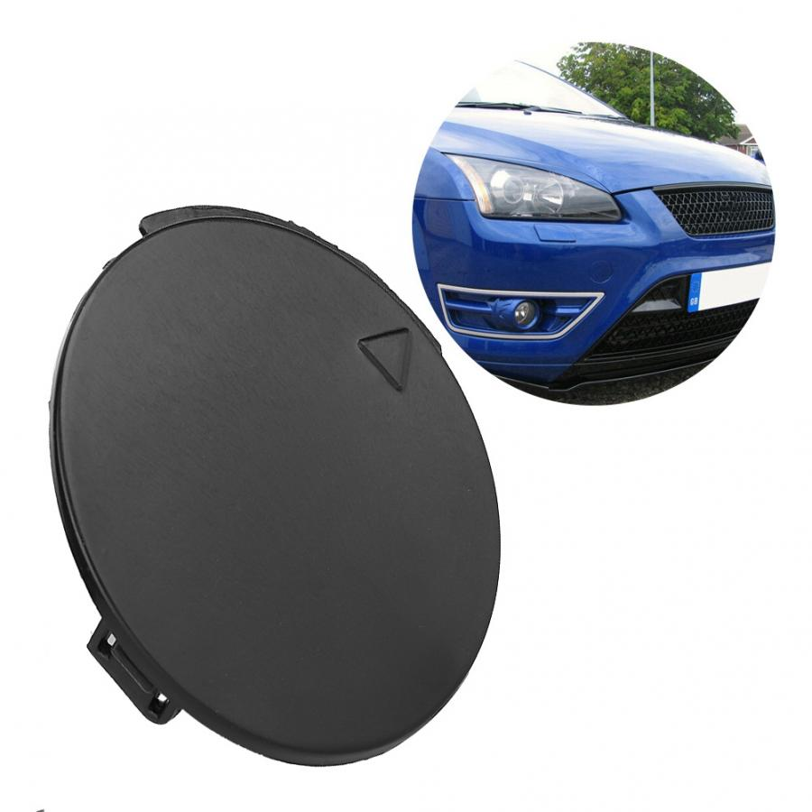 Front Bumper Tow Hook Eye Cover,Front Bumper Tow Towing Hook Eye Cap Cover Fits for Focus MK2 2007-2011