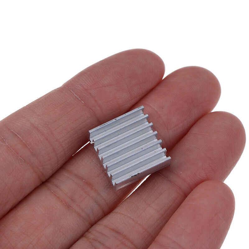 4 sztuk/zestaw nowe srebrne o kolorze aluminium Radiator chłodnica zestawy dla Raspberry Pi 4B darmowa wysyłka