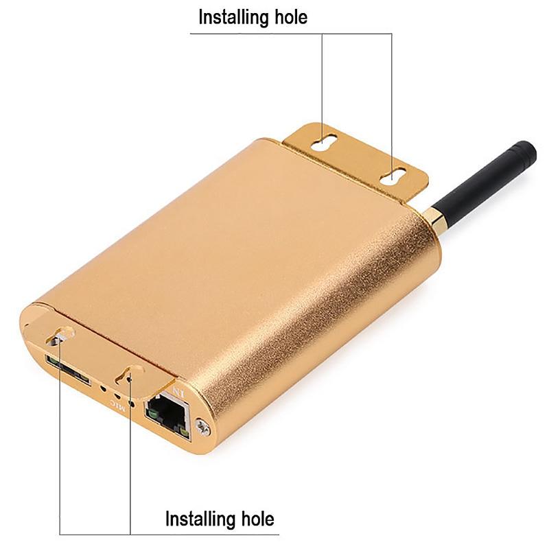 Controlador do spi da conexão de wifi, controlador endereçável de digitas do diodo emissor de luz do pixel 2048, controlador claro da tira da cor do sonho com micphone - 5