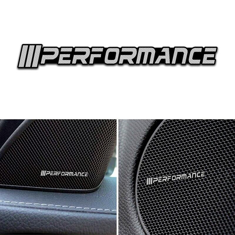 4 шт. Автомобильная декоративная 3D алюминиевая эмблема наклейка для M Power Performance BMW M 1 3 4 5 6 7E Z X M3 M5 M6 аксессуары