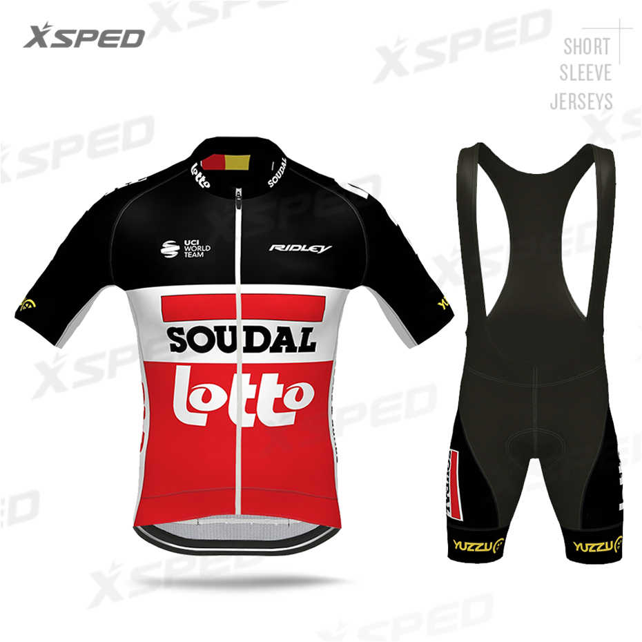 New Cycling Jersey Men Summer Bike Clothing Set Short Sleeve Suits Bicycle Tops