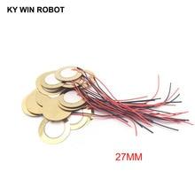 10 個圧電圧電セラミックウエハプレート径 27 ミリメートルブザースピーカー