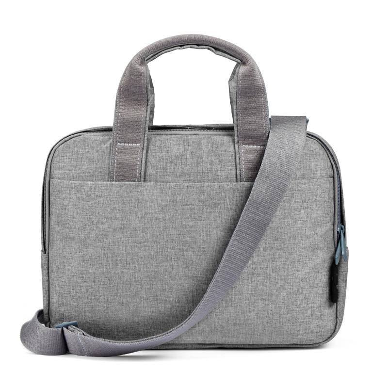 Cai Fashion Laptop Bag Case Messenger Bags For MacBook Air Case Waterproof Notebook Bag Women Men Touch Bar Sleeve With Belt