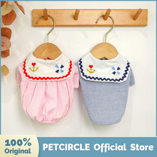 Shirt Puppy-Clothes Summer PETCIRCLE Costume Dog Small-Dog-Spring New Fit Pet-Cat Navy