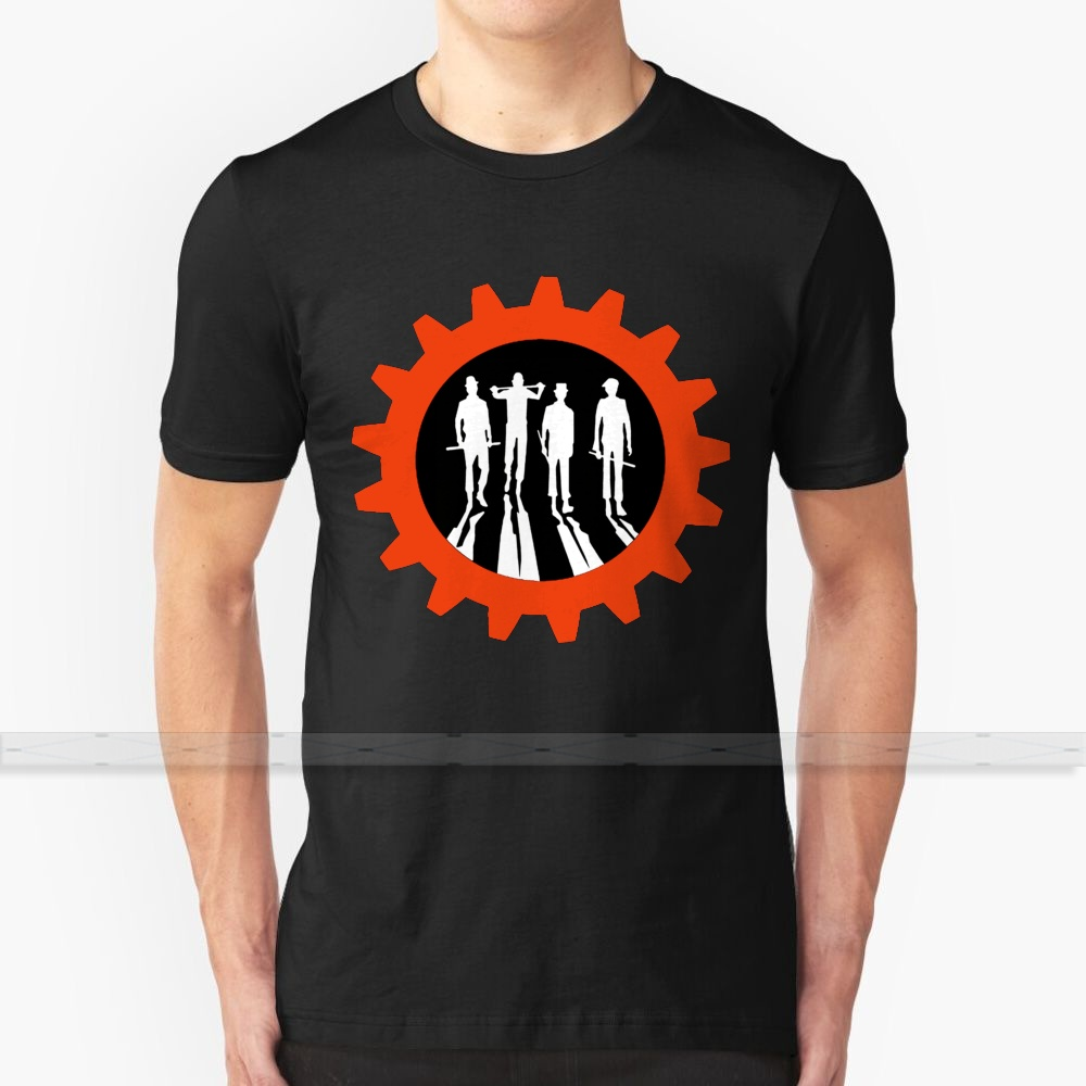 Clockwork Crew T-Shirt Men'S Women'S Summer 100% Cotton Tees Newest Top Popular T Shirts Minimalist Art Stanley <font><b>Kubrick</b></font> Anthony image