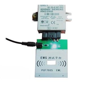 Image 2 - Ews3 ews4 plataforma de teste recarregável para bmw & para land rover pcf7935 chip ou eml eletrônico chip chave programa completo ou não