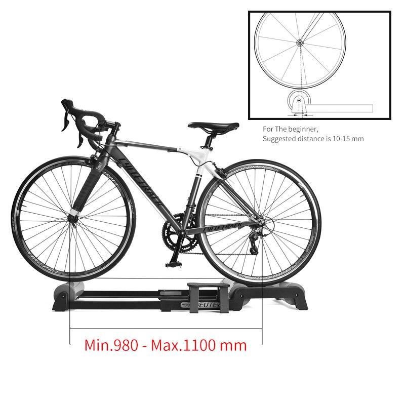 Vélo formateur rouleaux intérieur maison exercice rodillo bicicleta cyclisme formation Fitness vélo formateur vtt route vélo rouleaux - 6