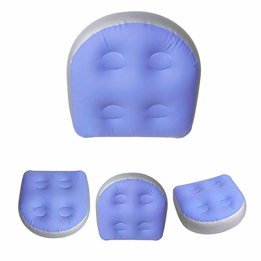 Bain à remous rehausseur siège Spa coussin dos relaxant doux Massage tapis gonflable baignoire oreiller pour adultes enfants