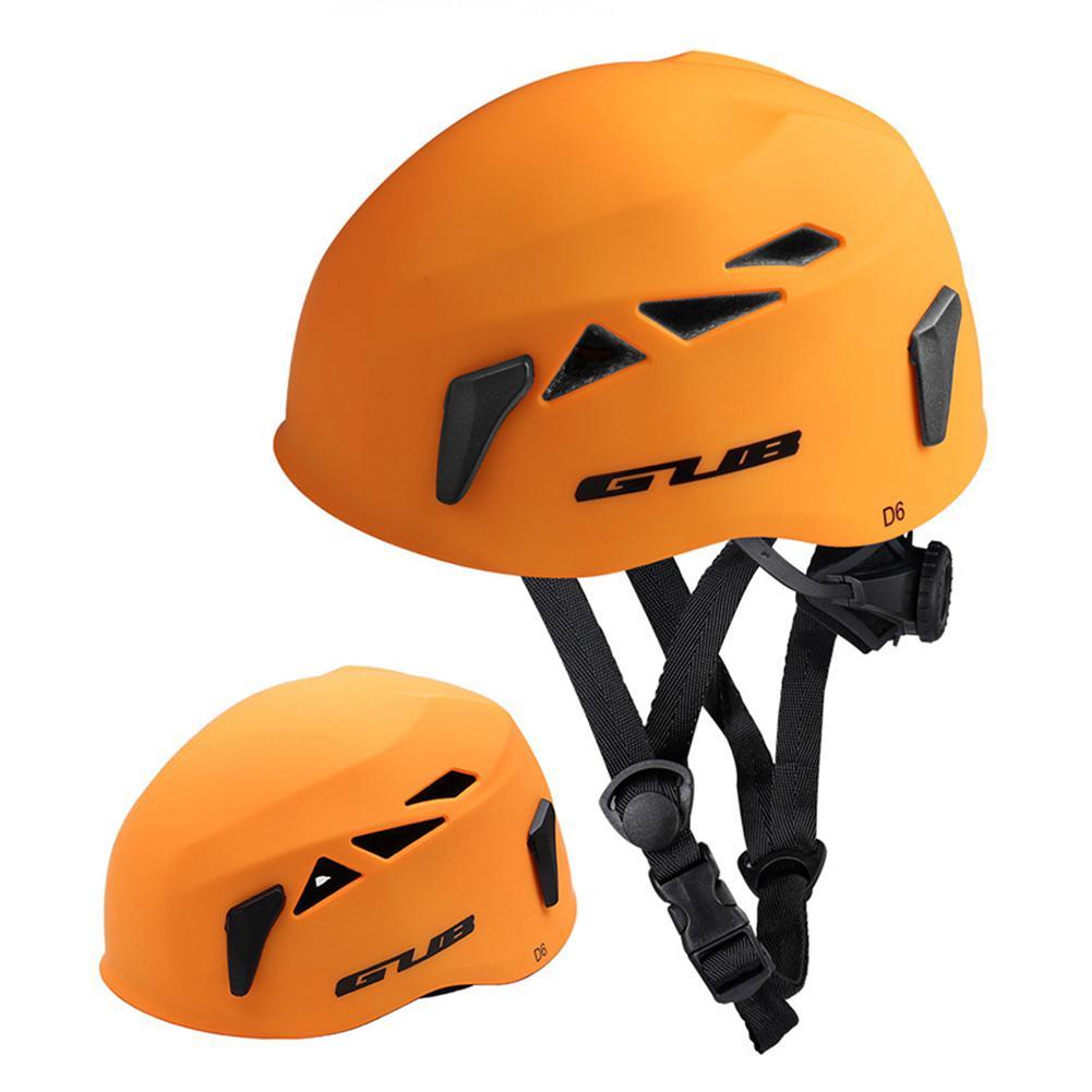 Casque de protection de tête extérieur descente Extension Cave sauvetage alpinisme en amont casque de sécurité chapeau équipement d'escalade - 4