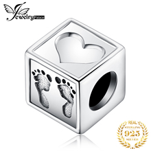 JewelryPalace Love Baby 925 Sterling Silver Beads Charms Original Fit Bracelet original for Jewelry Making