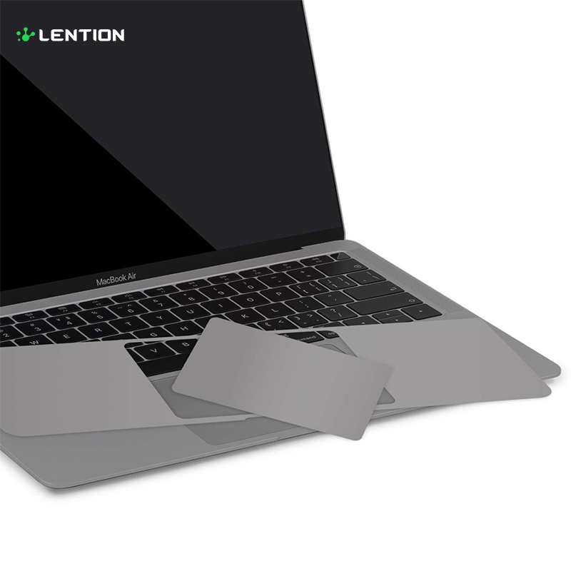 Palm Rest Skin for 2018 2019 MacBook Air 13-inch Model <font><b>A1932</b></font>, Protective Vinyl Decal Cover Sticker with <font><b>Trackpad</b></font> Protector image