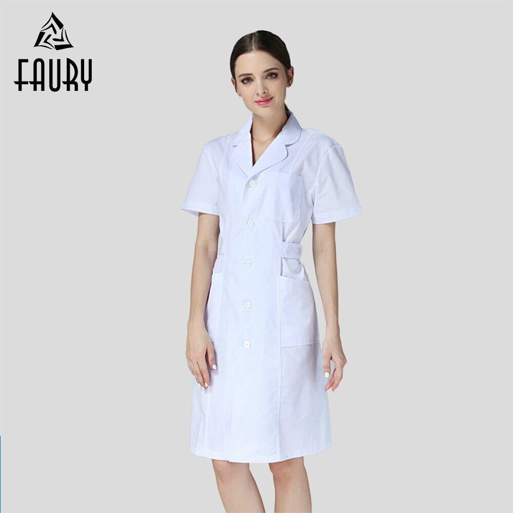 Medical Nurse Doctor Uniform Lab Coat Pharmacy Beauty Salon Hospital Clinic Spa Work Wear Uniforms Women Medical Clothes