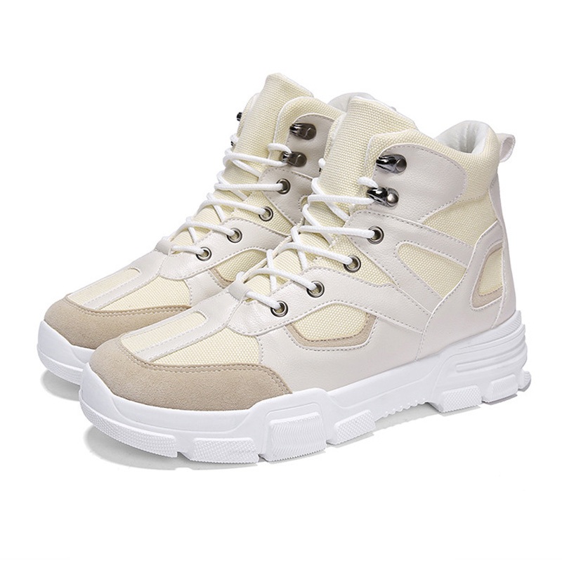 2019 Spring Models Men Boots Sneakers Timber land Shoes Breathable High Top Trainers Safty Shoes Combat Boots