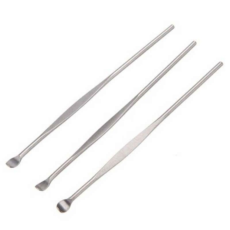 يختار الشمع إزالة Curette مزيل الأنظف الأذن الرعاية أداة 8 سنتيمتر EarPicks جديد 5 قطعة الأذن الشمع جامعي الأذن الفولاذ المقاوم للصدأ