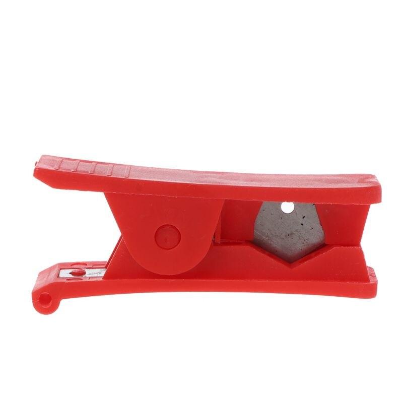 PVC PU Nylon Rubber Silicone Plastic Tube Pipe Hose Cutter Cut Up Scissors Hot H7EC