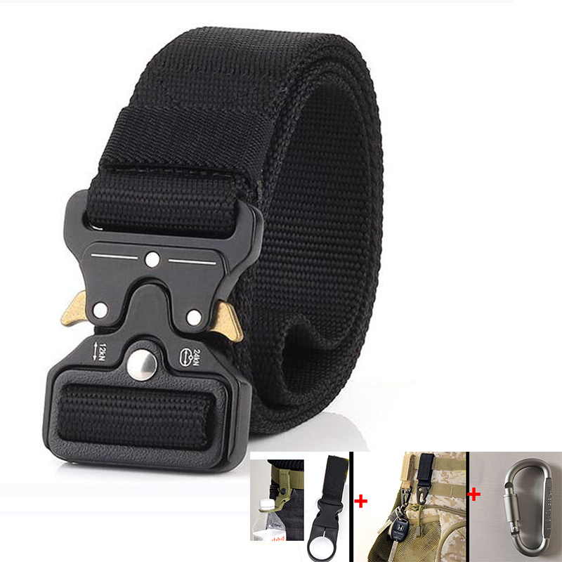 Tactical Waist Belt Men Military Nylon Belt Army Equipment SWAT Soldier Combat Training Carry Belt Men Casual Hunting Waistband