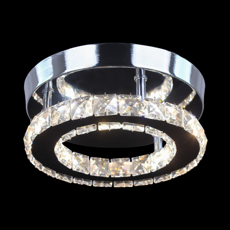 Re Crystal Round Plastic Ceiling