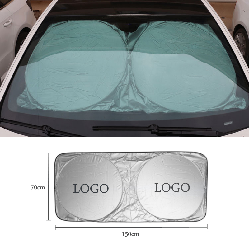 For Chevrolet MINI Mercedes Benz AMG Mitsubishi VW Lexus Hyundai CarSunshade Front Window Film Windshield Visor Cover UV Protect