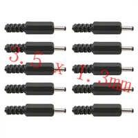 Adaptador de toma de corriente DC, enchufe macho de 3,5mm x 1,3mm, 3,5x1,3mm, Enchufe macho de cable de montaje de Conector de terminales
