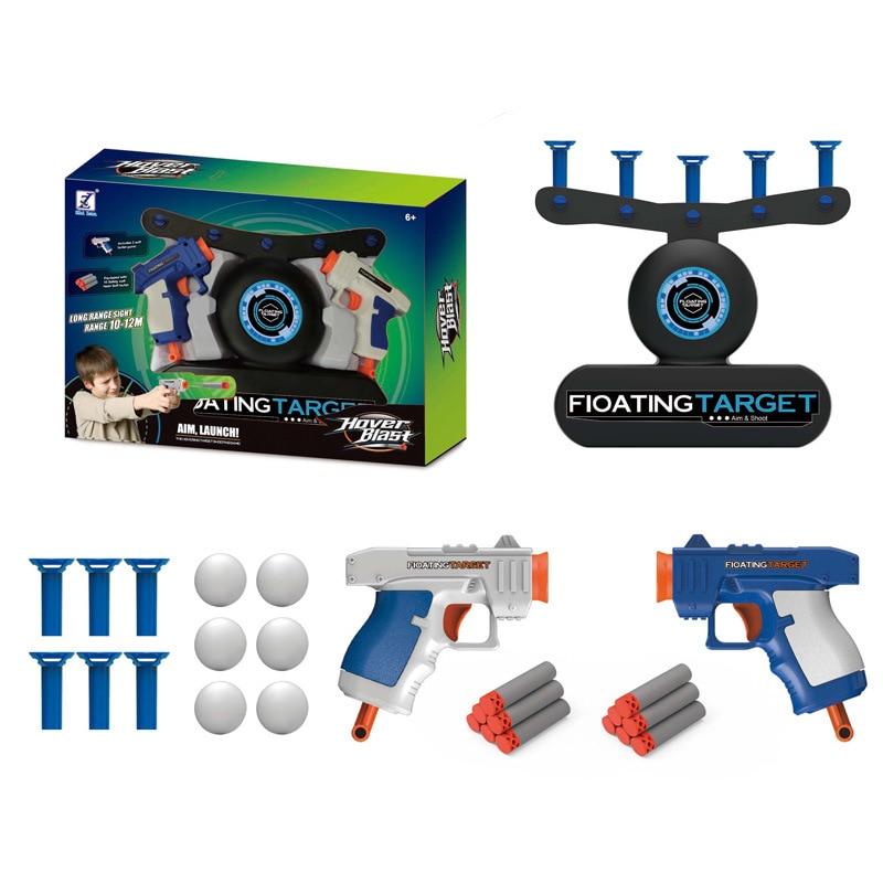 New Gun Shooting Floating Hovering Ball Indoor Machine Suspension Flying Ball Guns Shooting Game Gift For Children Toys Kids