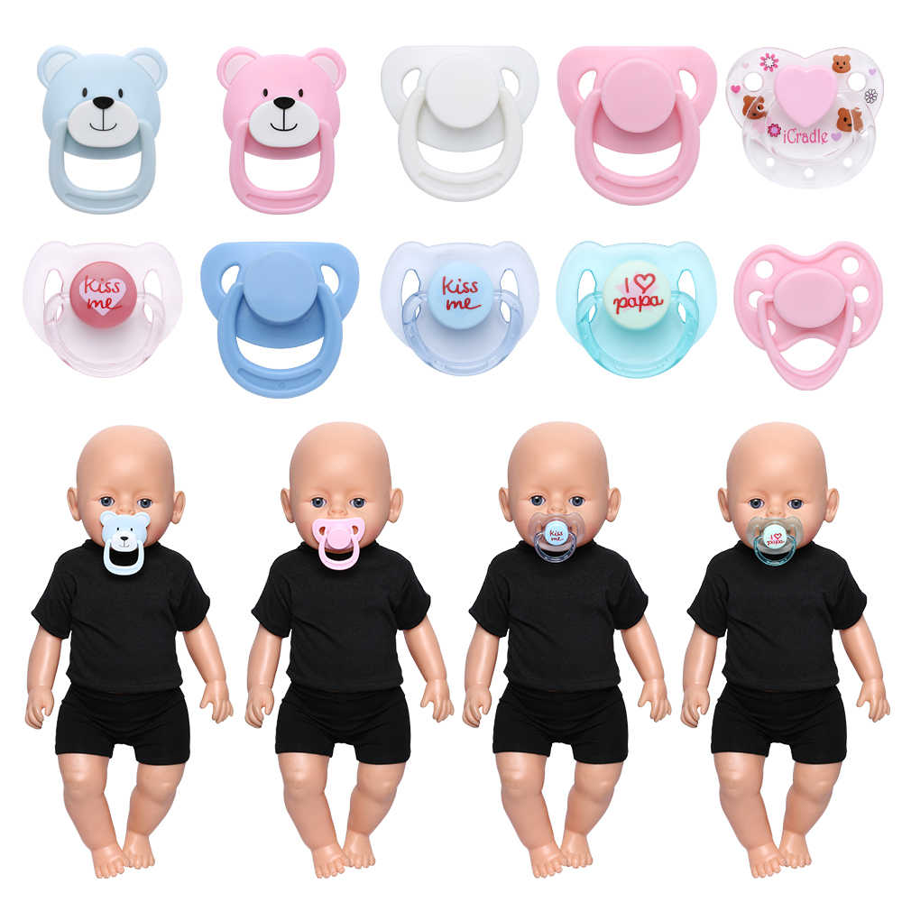 Handmade DIY Accessories Dummy Nipples Doll Magnet Pacifier Simulation New Baby