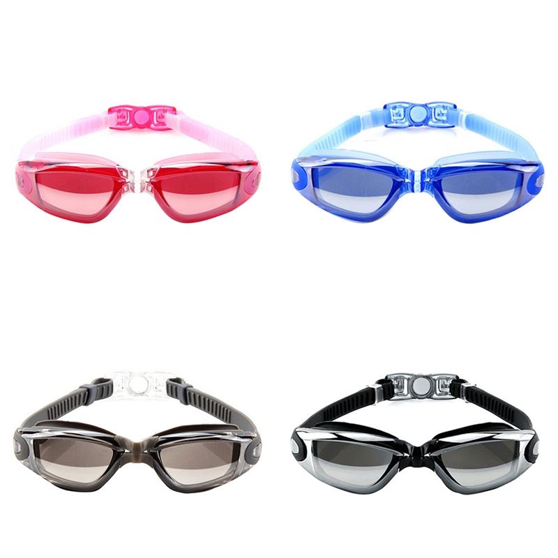 Swimming Glasses Goggles for Swimming Pool Adults Men Women Anti Fog Optical Arena Diopter UV Protection Case Swim Waterproof(China)