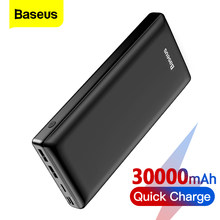 Baseus Power Bank 30000mAh QC PD 3.0 USB C Fast Charging Powerbank Portable External Battery Charger Poverbank For iPhone Xiaomi