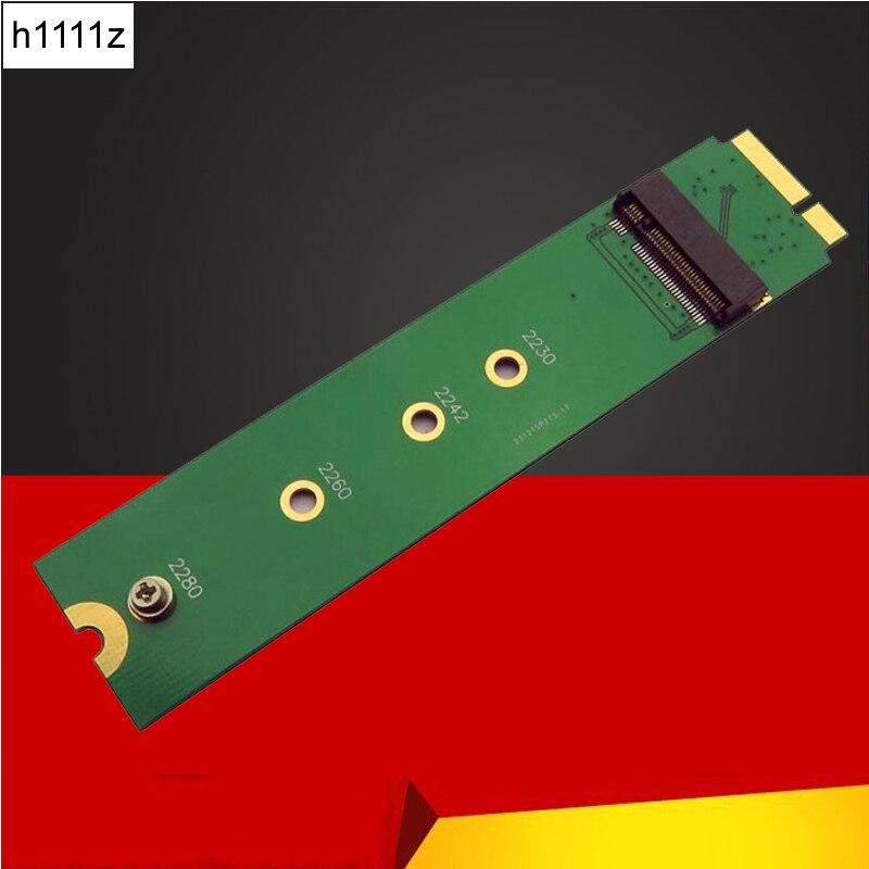 NOVO 128GB 256GB 512GB 1TB SSD Para 2012 Macbook Air A1465 A1466 Md231 Md232 Md223 Md224 m2 Adaptador SSD NGFF SSD para MAC Da Apple