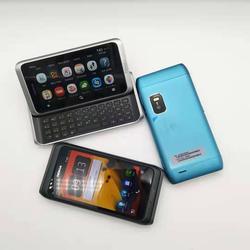 E7 original desbloqueado nokia e7 telefone móvel 4.0 inch polegada câmera 8.0mp gps wifi 16 gb storange nokia telefone inteligente frete grátis