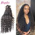 34, 36, 38, 40 дюймов бразильские волосы глубокая волна пряди густые завитые натуральные кудрявые пучки волос длинные волосы для наращивания, Во...