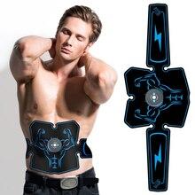 Стимулятор мышц живота, тренажер EMS, оборудование для фитнеса, тренажерного зала, оборудование для тренировок, электростимулятор, тонер, тренажер для мышц