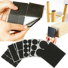 Chair-Leg-Pads Protector Furniture Rubber-Table Non-Slip Thick 2/4/12-/.. Hardware Foot-Mat